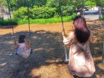 Aishwarya Rai Daughter Aaradhya Take To Swings And Abhishek Captures This Happy Holiday Moment