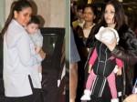 Unlike Aishwarya Rai Bachchan Abhishek Bachchan Saif Ali Khan Let Paparazzi Click Taimur Pictures