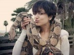 Mamta Mohandas With Python The Photo Goes Viral On Social Media