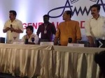 Mukesh Lost His Cool On Amma General Body Press Meet