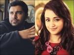 Nivin Pauly And Thrisha Meet Together In Filmfare Award