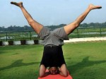 Yoga Day Photo Of Mohanlal