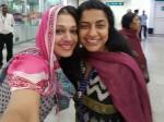 When Shobana Suhasini Met At Airport