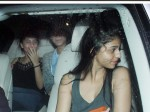 Shah Rukh Khans Daughter Suhana Enjoys A Night Out With Friends