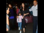 Scary Aaradhya Angry Aishwarya Rai Bachchan Tells Media Stop Taking Photos