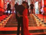 A Red Hot Lisa Haydon Shares Lip Lock With Her Hubby Dino Lavani