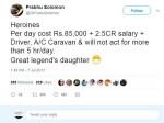 Prabhu Solomons Controversial Tweet