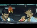 Bipasha Basu Hides Her Face As She Steps With Husband Karan
