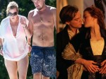 Lenoardo Dicaprio Kate Winslet Hit The Pool Together