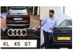 Tovino Thomas Gave Fancy Number His New Audi Car