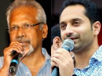 Fahadh Faasils Mani Ratnam Film To Go On Floors Soon