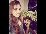 Nazriya S Selfi With Brother Law Farhan Faasil