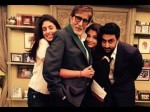 Aishwarya Rai Shweta Nanda Give Tight Hug To Amitabh Bachchan