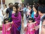 Aishwarya Rai Bachchan Durga Puja Festivities