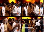 Mohanlal Gets Standing Ovation From Rajinikanth