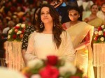 Actress Bhavana S Angelic Entry At Jyothi Krishna Wedding