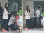 Aishwarya Rai Bachchan Clicked Outside Mother House Looks Simple Yet Elegant New Pictures