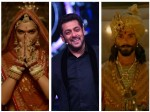 Padmavathi Promotion Big Boss Salman Khan Deepika Pdukone Ranveer Shahid Sanjay Bansali