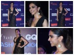 Bollywood Actress Deepika Padukone Looks Stunning At Gq Fashon Nights