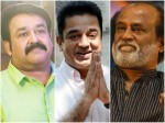 Mohanlal Rajinikanth Kamal Haasan Come Together