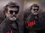 Second Look Poster Kaala Released On Rajinikanth S 67th Birt