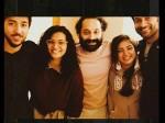 Nazriya Nazim Celebrates Her Birthday Prithviraj Fahad Video Viral