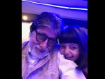 Amitabh Bachchan Celebrates New Year With Navya Naveli And Aaradhya Bachchan