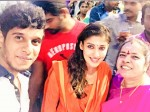 Vignesh Shivn Nayanthara Temple Visit Viral