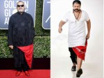 Laurence Fishburne Channels Jayasurya S Aadu 2 Style His Golden Globes Attire