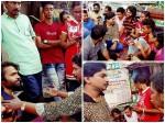 Actor Santhosh Pandit Visited Sreejith Offer His Support