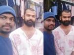 Pranav Mohanlal Latest Pics From Rishikesh