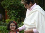 Amitabh Bachchan Shares Pic Young Fan Who Braved Crowds Snuck Inside His House