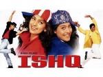 Ajay Devgn And Aamir Khan In Ishq Movie