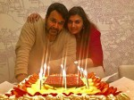 Mohanlal Celebrate Birthday With Suchithra