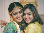 Nazriya Nazim At Meghna Raj Marriage Ceremony