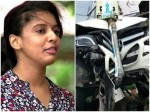 Singer Sithara S Car Meets With An Accident