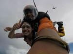 Miya George Her Mom Skydiving