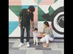 Dulquer Salmaan Daughter Celebrates First Birthday