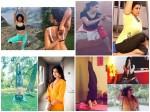 Actress Yoga Photos