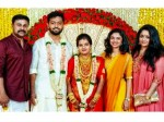 Dileep Kavya Meenakshi At Frends Wedding
