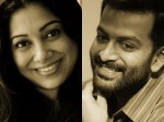 Anjali Menon Prithviraj Movie Title Released