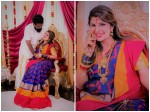 Actress Rambha Shared Valaikaapu Photos