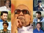 Mohanlal Tamil Movie Industry Respond Karunanidhi Death