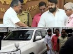 Mohanlal S Mass Entry In Cm S Pressmeet Video Viral