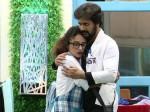 Srinish Aravind Pearle Maaney Hug Romance Back In Bigboss