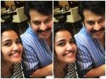Anupama Parameswaran Meet With Mammootty At Hydrabad