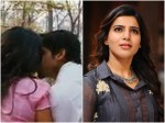 Samantha Says About Kissing Seen Movie