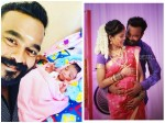 First Picture Appani Sarath S Baby Girl
