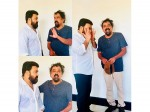 Santhosh Sivan Shares Photo With Mohanlal
