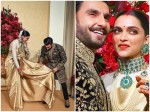Deepika Padukone Ranveer Singh Reception Wedding Pictures